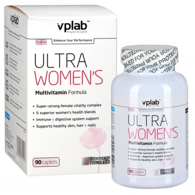 Витамины VPLab Ultra Women`s Multivitamin Formula 90 caps