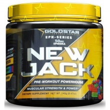 Предтрен Gold Star New Jack 240гр, 30 порц.